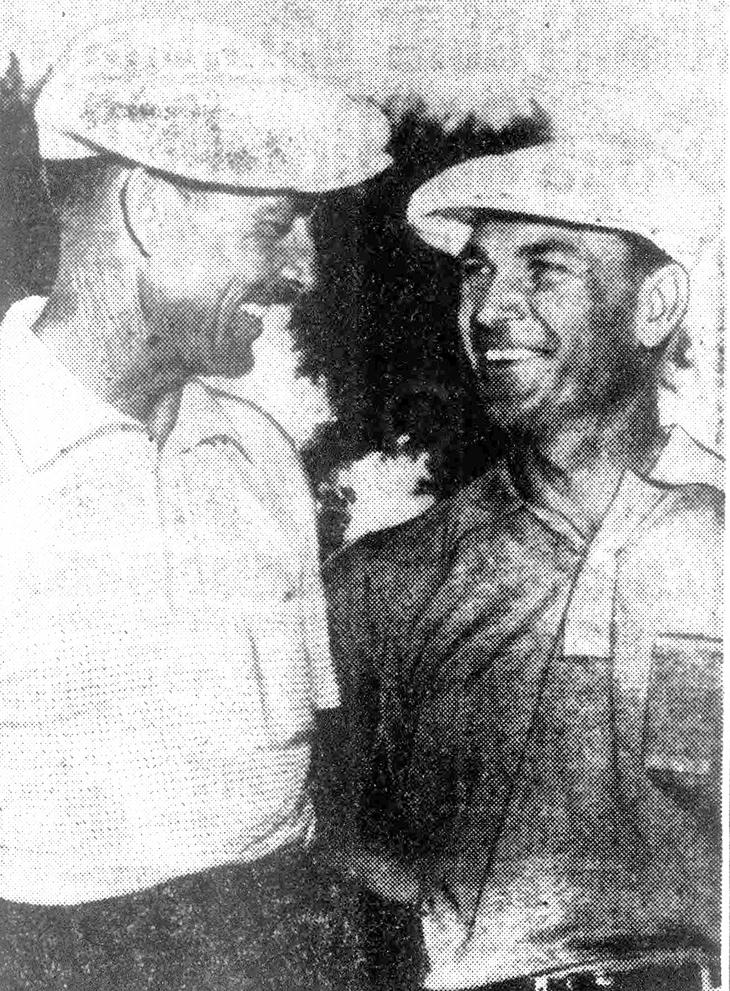 ben hogan, american golfer, professional golf player, golf pro, 1940s, 1950s, golf champion, the wee iceman, bantam ben,raymond gafford, 1952