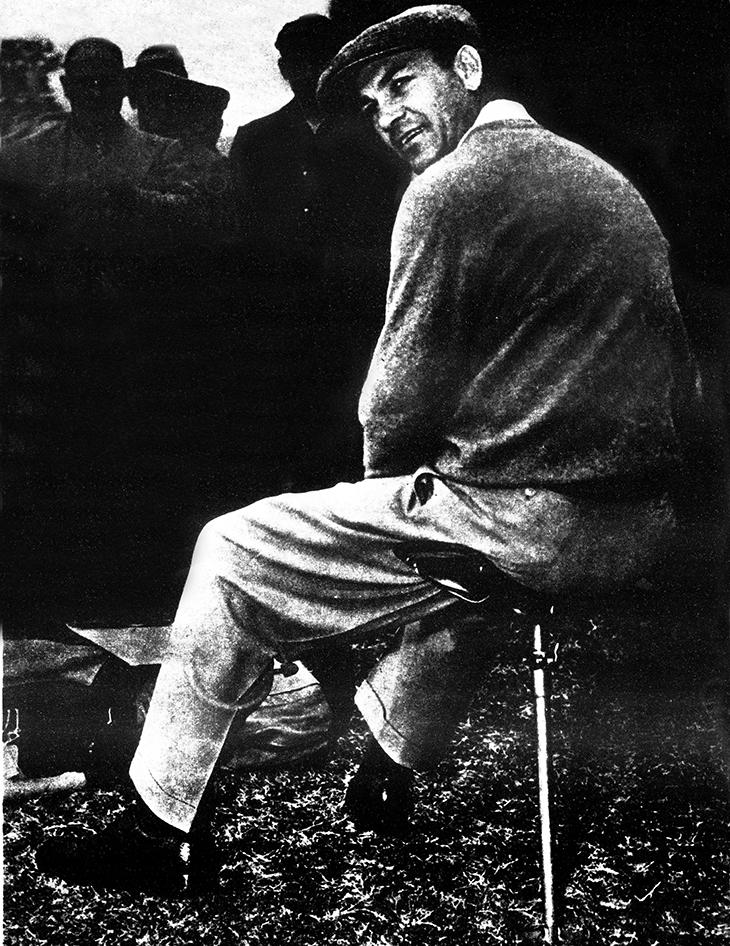 ben hogan, american golfer, professional golf player, golf pro, 1940s, 1950s, golf champion, the wee iceman, bantam ben,1954