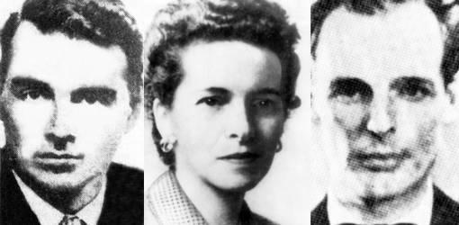 1951 june, guy burgess, donald maclean, british diplomants, soviet spies, cambridge five, melinda maclean, 1940s, 1930s, 1950s,