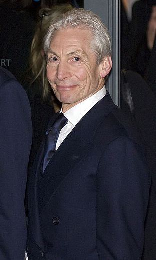 charlie watts 2008, english drummer, rock musician, the rolling stones, senior citizen