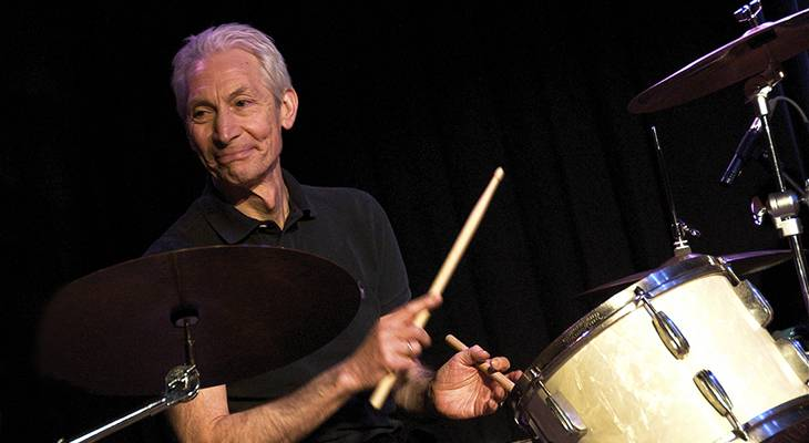 charlie watts, british musician, english drummer, rock and roll music, rock bands, the rolling stones, jazz drummer, senior