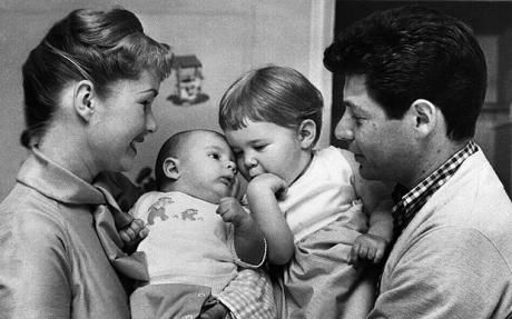eddie fisher, debbie reynolds, todd fisher, carrie fisher, happy fathers day