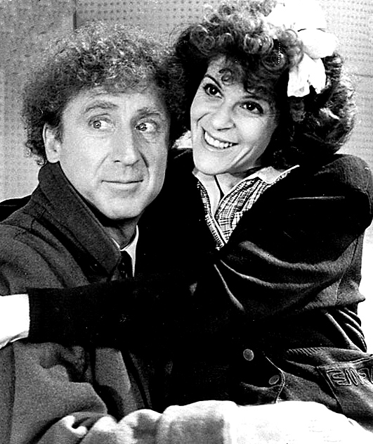 gene wilder 1986, nee jerome silberman, screenwriter, author, comedian, actor, married gilda radner 1984, 1980s comedy movies, haunted honeymoon, ovarian cancer spokesperson, gildas disease fund