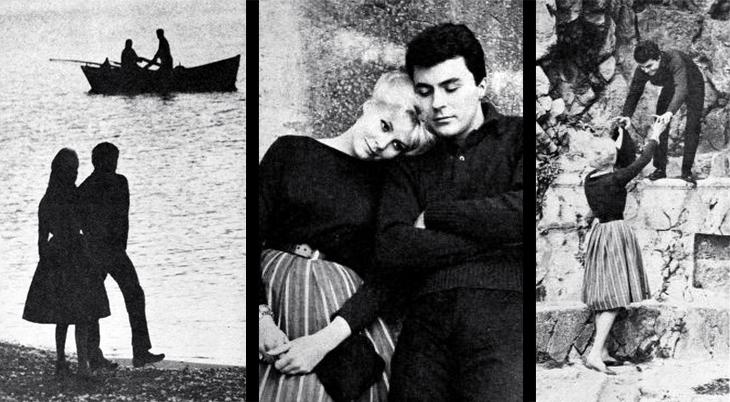 james darren, american singer, actor, honeymoon, evy norlund, rhodes, 1961, movies, the guns of navarone, filming locations,