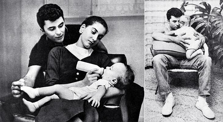 james darren, american singer, actor, movie star, 1950s, 1958, wife gloria terlitsky, son jimmy darren, jim moret, family