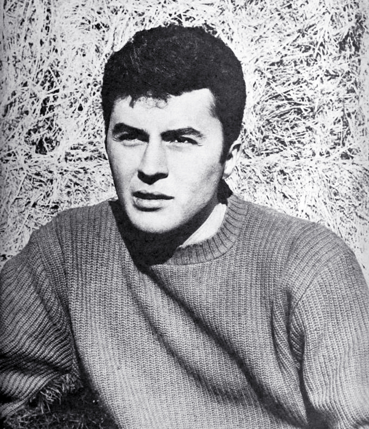 james darren, james ercolani, american singer, actor, 1958, 1950s, teen idol, movies, gunmans walk, film star, rumble on the docks, operation mad ball, the tijuana story, the brothers rico,
