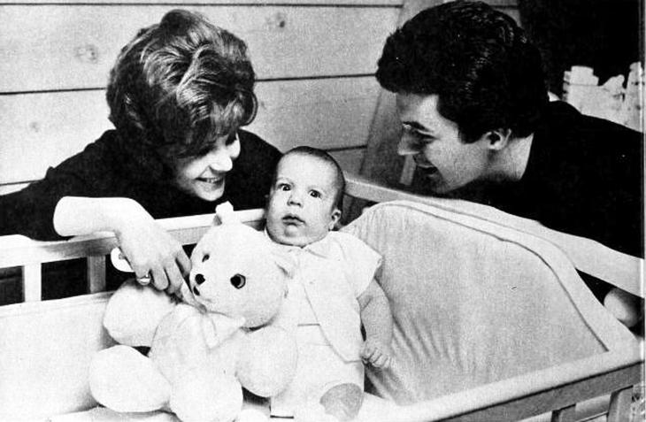 james darren, american singer, actor, evy norlund, 1960, family, son, christian ercolani, 1961