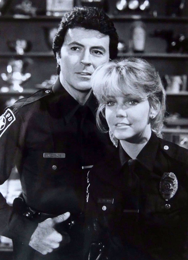 james darren 1983, heather locklear, american actors, 1980s television series, t j hooker, officer jim corrigan