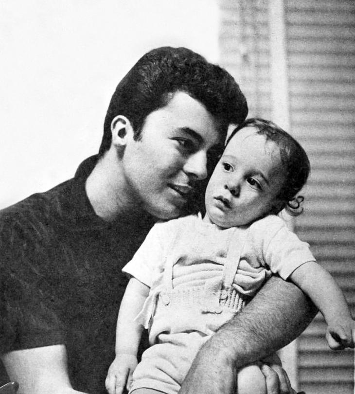 james darren, american singer, actor, movie star, 1950s, 1958, son jimmy darren, jim moret, family, children