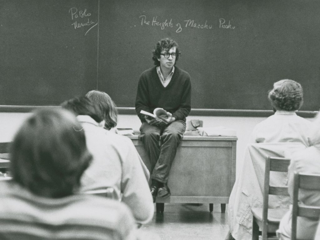 larry mcmurtry 1972, rice university, teaching, teacher