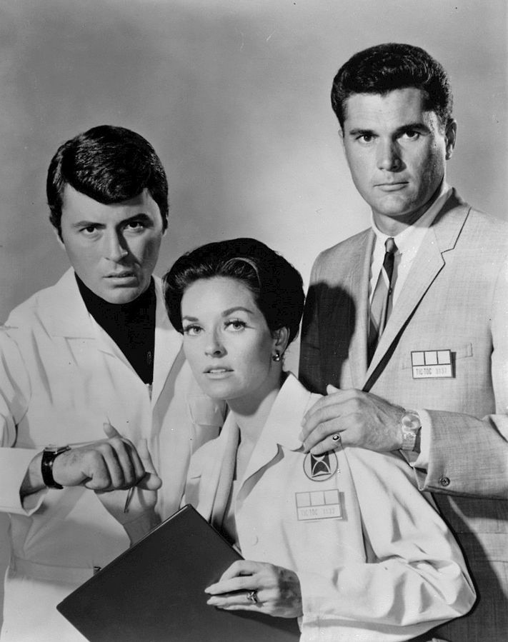james darren 1966, the time tunnel, robert colbert, lee meriwether, 1960s tv series, 1960s sci fi, tv shows