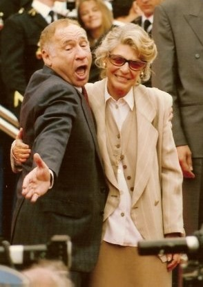 mel brooks 1991, wife anne bancroft, married, american actors, comedians