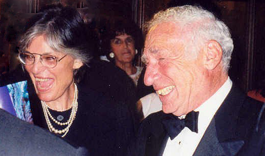 mel brooks 1997, anne bancroft, married, senior couple, american actors