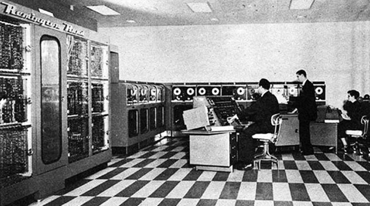univac i, universal automatic computer, remington rand computer, first commercial computer, 1950s