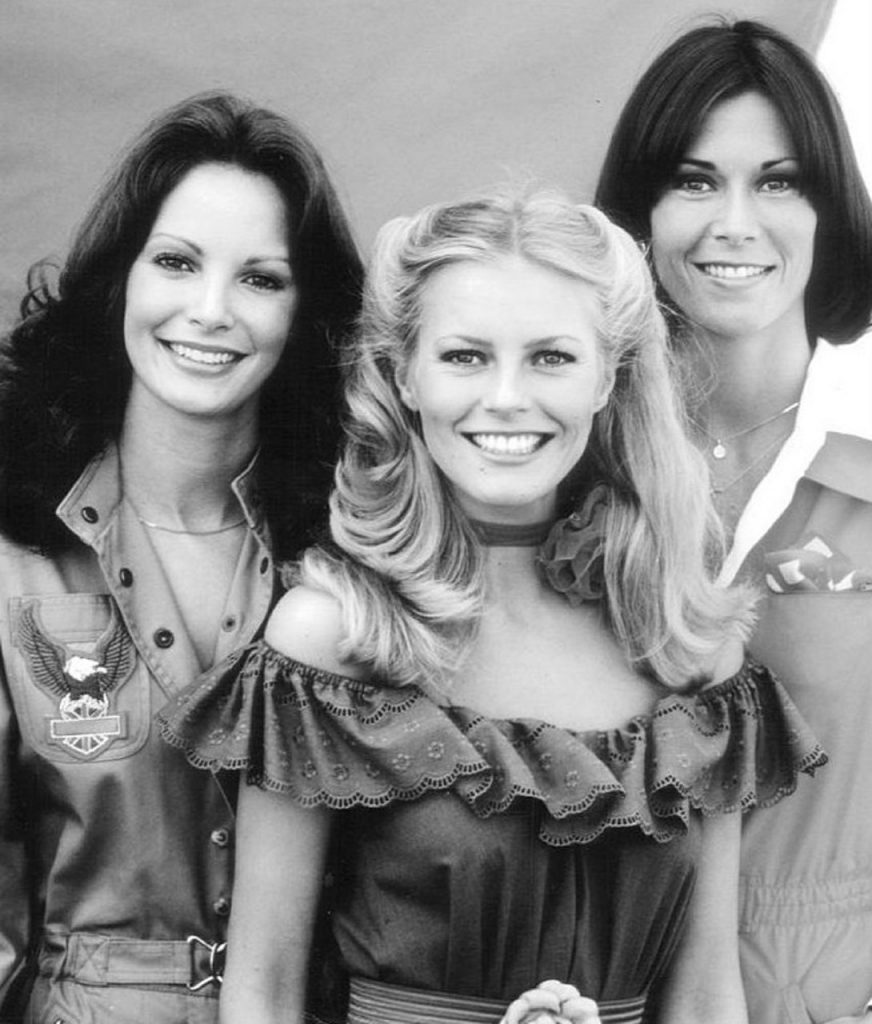 cheryl ladd 1970s, jaclyn smith, kate jackson, charlies angels cast, 1970s television shows, 1970s tv series