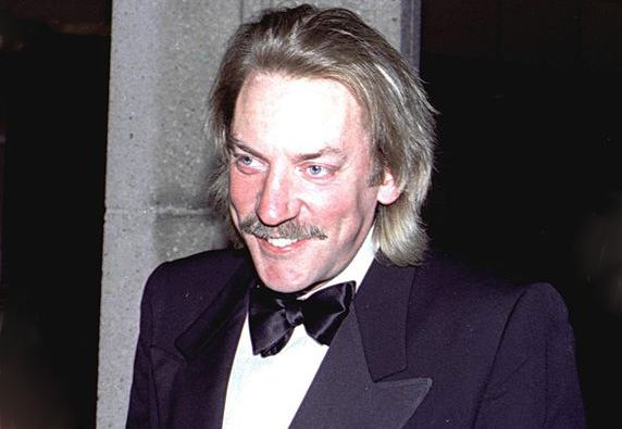 donald sutherland 1981, canadian actor, younger, 1980s movie actor