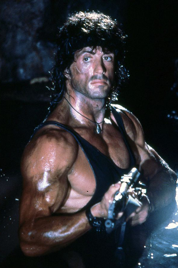 sylvester stallone 1982, 1980s action movies, first blood, john rambo, american actor