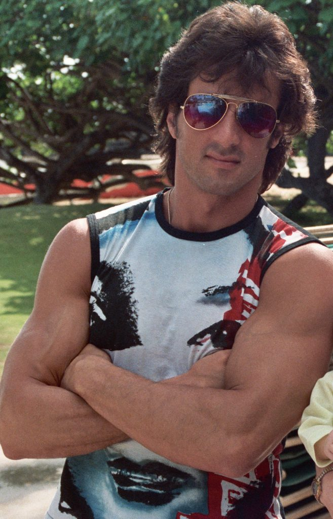 sylvester stallone 1984, american actor, stallone 1980s, action movie star