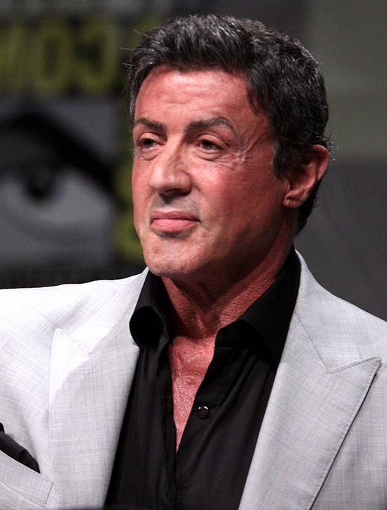 sylvester stallone 2012, american actor, action movie star, older