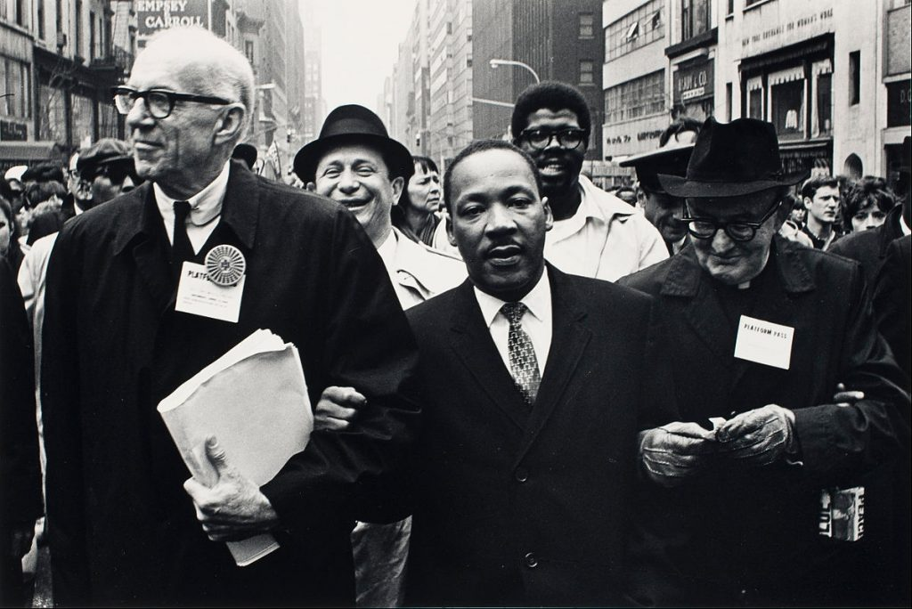 dr benjamin spock, dr martin luther king, peace activists, 1967