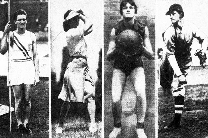 babe didrikson zaharias, american athlete, 1932 olympics, gold medalists, javelin, basketball, baseball player, professional golfer, lpga golf,