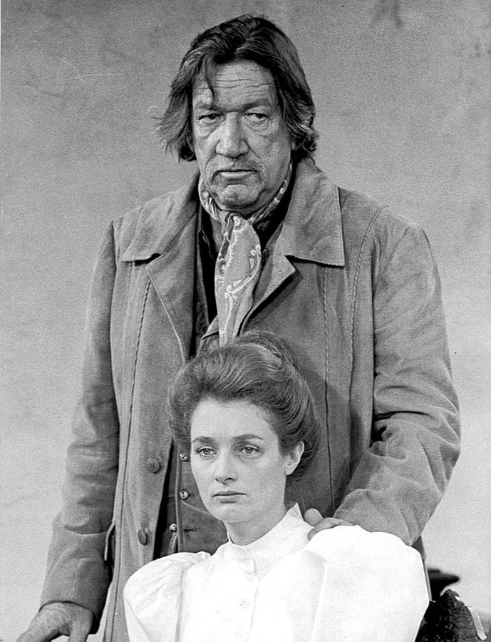 diana muldaur 1973, american actress, 1970s television series, guest star hec ramsay, richard boone, american actor, 1970s western tv shows