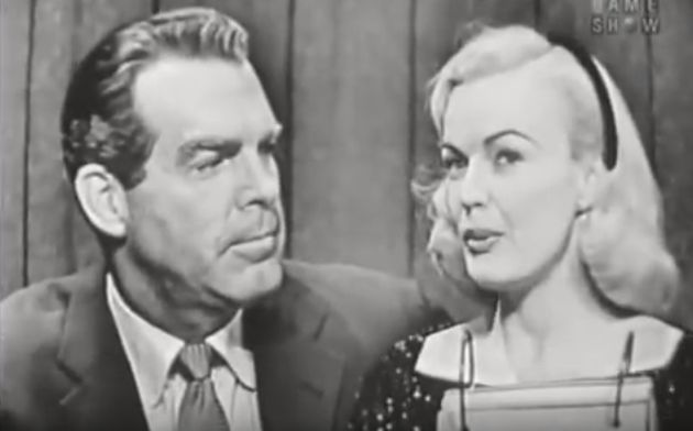 fred macmurray 1957, wife june haver, 1950s movie stars, american actors, 1950s television series, whats my line