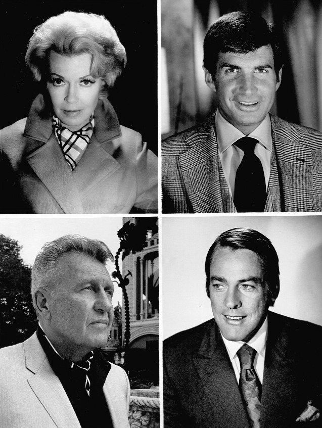 george hamilton 1969, lana turner, ralph bellamy, kevin mccarthy, 1960s tv shows, 1970s tv series, harold robbins the survivors, american actors, american actress