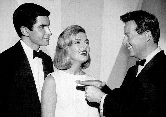 george hamilton 1963, lizabeth scott, stump the stars, 1960s game shows, movie actor, american actor, actress, celebrity