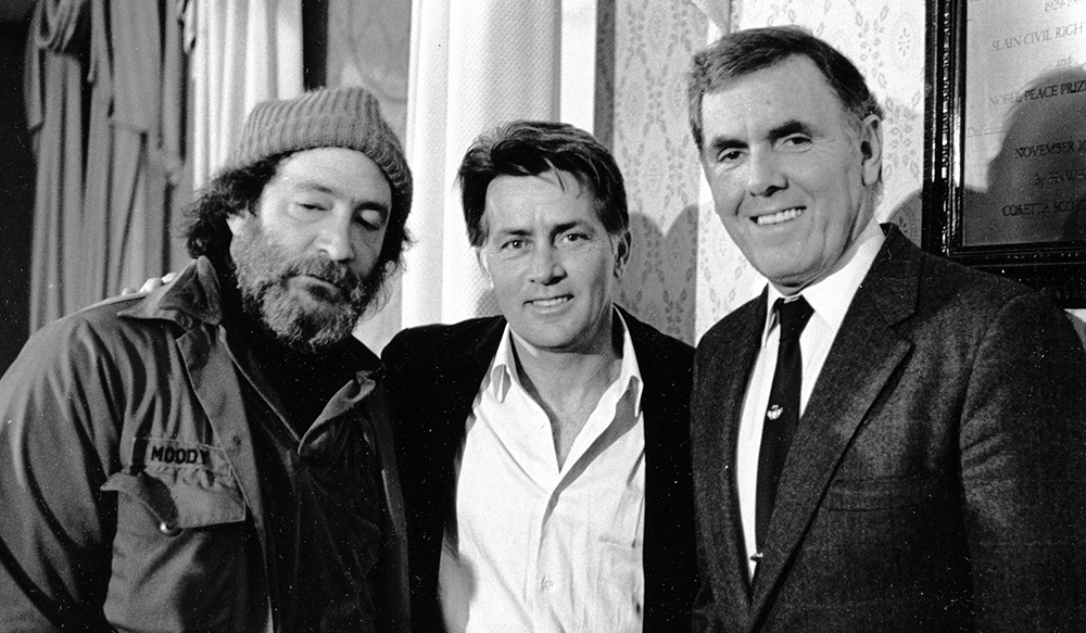 martin sheen 1987, homeless advocate mitch snyder, boston mayor raymond l flynn, american actor, social activist causes
