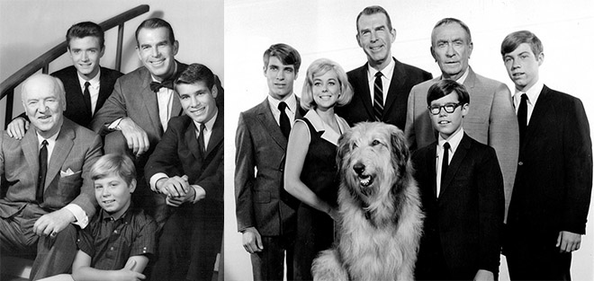my three sons, cast, 1962, 1967, my three sons, fred macmurray, steven douglas, tim considine, mike douglas, don grady, robbie douglas, stanley livingston, chip douglas, ernie douglas, barry livingston, william frawley, bub ocasey, beverly garland, barbara harper, katie miller, tina cole, dodie douglas, dawn lyn, william demarest, uncle charley