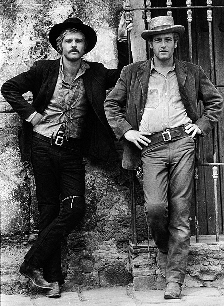 robert redford 1969, paul newman, younger, american actors, 1960s movies, butch cassidy and the sundance kid, 1960s westerns