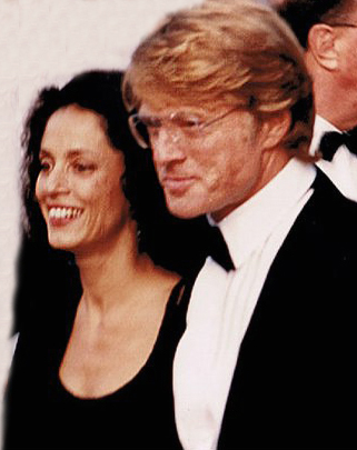 robert redford 1988, american actor, girlfriend sonia braga, 1980s movies, the milagro beanfield war