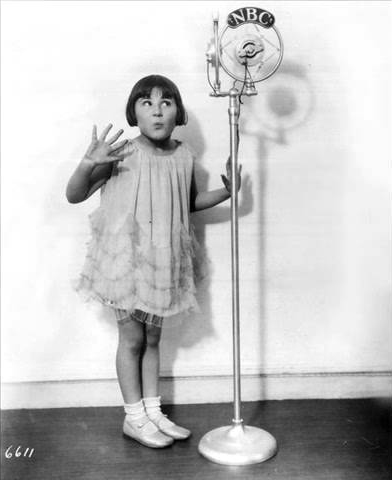 rose marie 1930, american child actress, singer, baby rose marie, 1930s movies, 1920s radio star