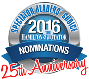 readers choice awards, hamilton spectator, nominations, best advertising agency, best seniors services