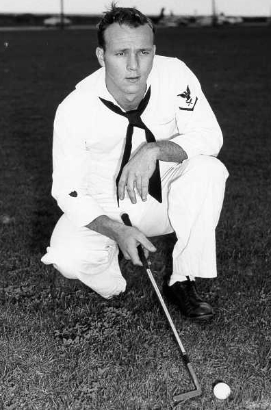 arnold palmer 1953, us coast guard, professional golfer, american golf pro, pga tour, younger