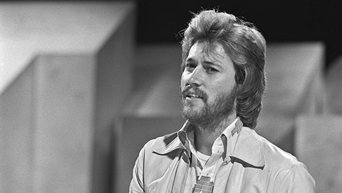 barry gibb 1973, younger