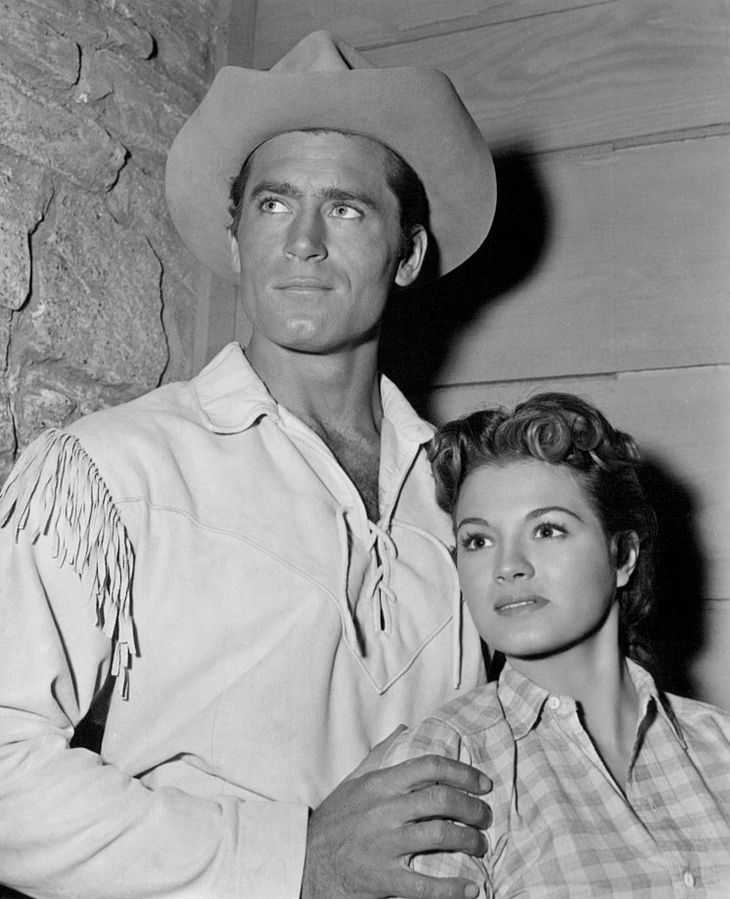 angie dickinson, clint walker, movies, cheyenne, 1957, american actress