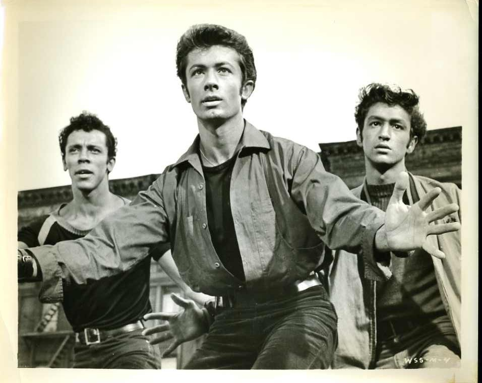 george chakiris 1961, west side story, 1960s movie musicals, american actor, singer, dancer