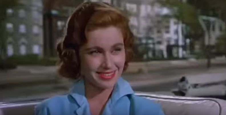 pat crowley 1956, american actress, 1950s movies, 1950s comedies, lewis and martin movies, hollywood or bust