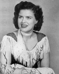 memorial service music, patsy cline 1957, walkin after midnight, country music singer, american singer