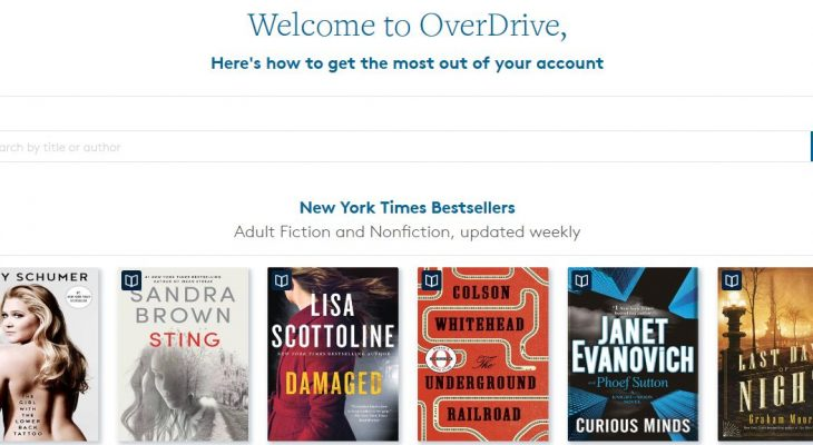 techboomers, technology for seniors, older adults, seniors technology, internet for seniors, technology tips for seniors, overdrive, what is overdrive, how to use overdrive, overdrive tips for seniors, borrow library books online, borrowing ebooks online