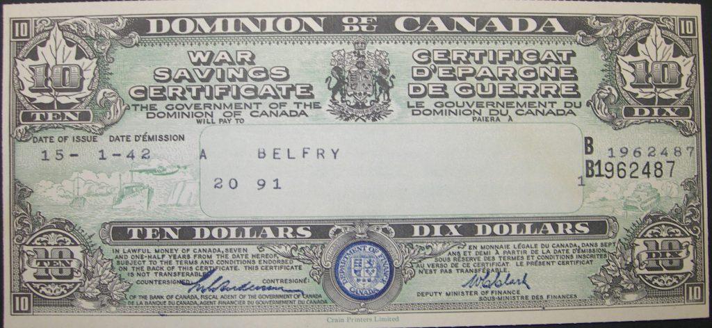 1946 october, canada savings bonds, payroll savings program, csb, 1942, war bonds, war savings certificate, canada