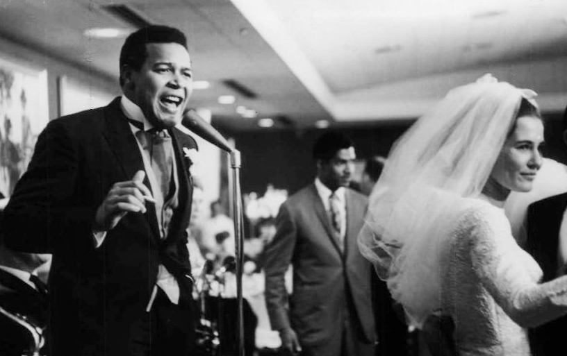 chubby checker 1964, wife catharina lodders, 1964 wedding reception, american singer, dancer
