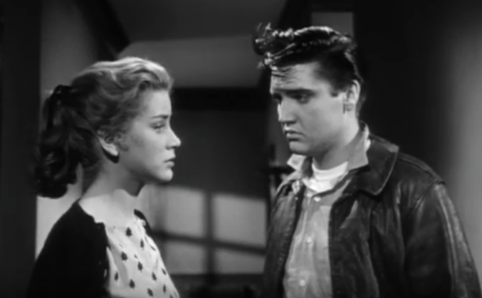 dolores hart 1958, elvis presley, 1950s movies, king creole, 1950s movie star