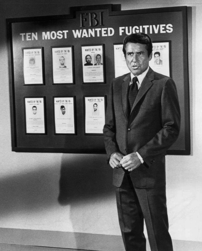 efrem zimbalist jr 1969, the fbi, 1960s tv series, 1960s television shows, 1970s television series, inspector lewis erskine, fbi ten most wanted, october 1969 most wanted list