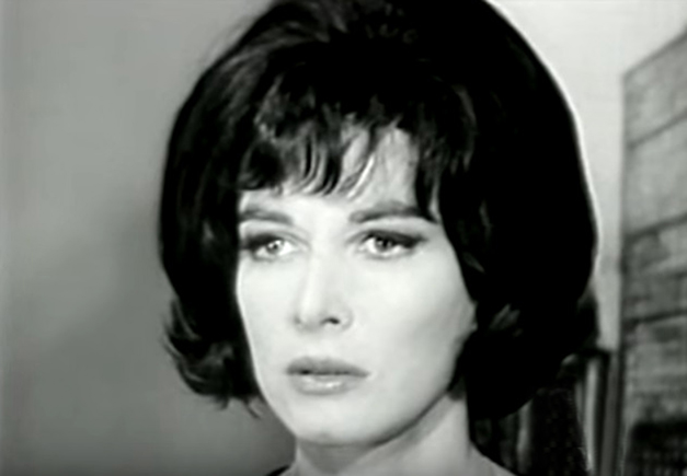 lee grant 1966, younger lee grant, american actress, 1960s television series, 1960s tv soap operas, peyton place tv show, stella chernak