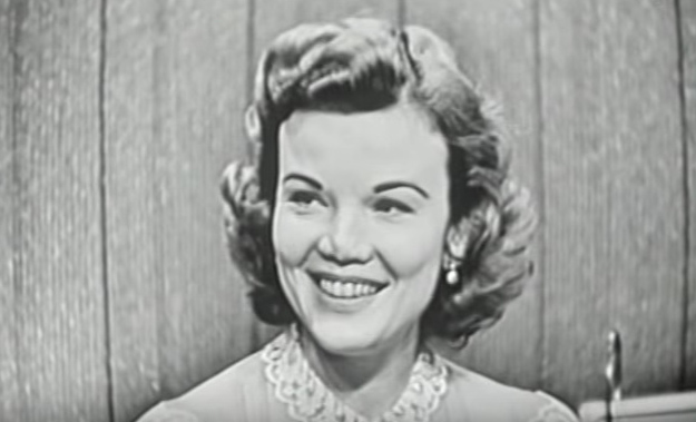 nanette fabray 1956, american actress, 1950s television series, 1950s tv quiz shows, whats my line, younger actress