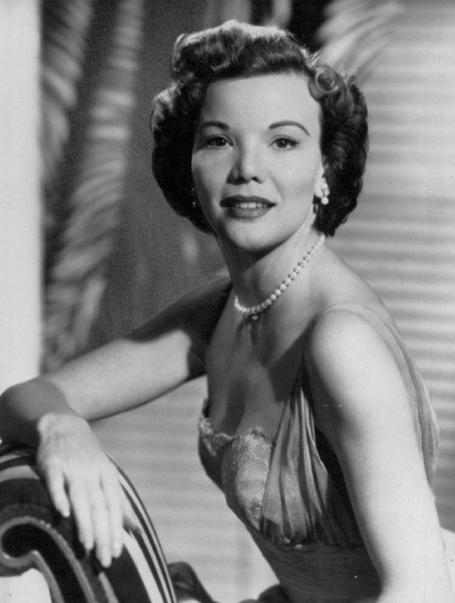 nanette fabray 1963, american singer, actress, younger