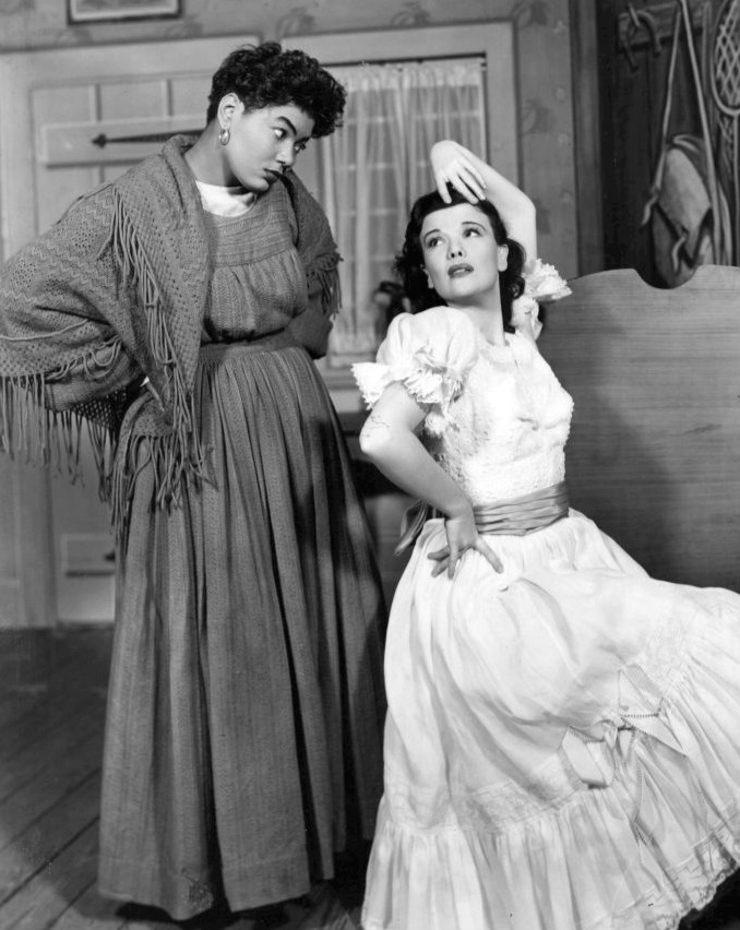 nanette fabray 1950, pearl bailey, american actresses, singers, broadway musicals, 1950s broadway plays, younger, arms and the girl 1950 play